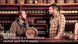 How to Barrel Age a Cocktail with Hudson Whiskey Barrel Aging Cocktail Kit, recipes