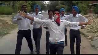 khappi janta p.a.u ..... on road dance ... raj sidhu nd gang,,,,, shoot by-pandher simar