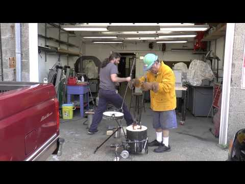 LOST WAX CASTING MIXING AND POURING THE INVESTMENT - YouTube