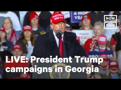 President Trump Campaigns in Rome, GA   LIVE   NowThis