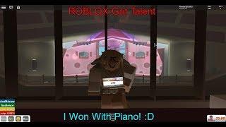 """Roblox Got Talent - Gané tocando """"Twinkle Twinkle Little Star"""" en Piano XD"""