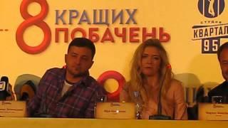 «8 лучших свиданий»: Зеленский и Брежнева о сцене с поцелуями