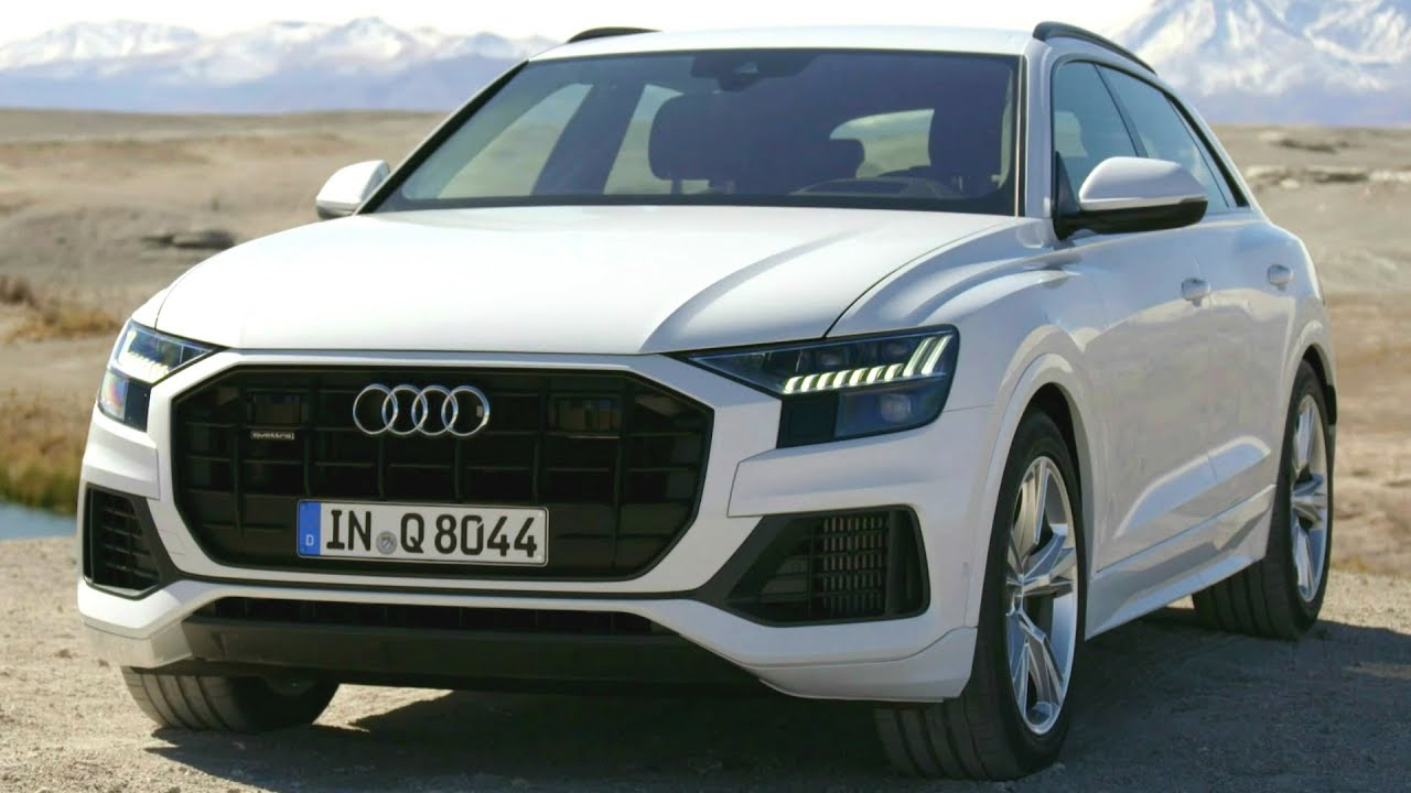2018 white audi q8 luxury coupe with the practical. Black Bedroom Furniture Sets. Home Design Ideas