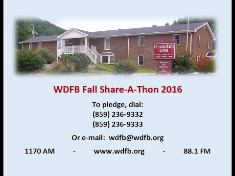 WDFB1170AM881FM Live Stream Share-A-Thon 2016 Fall