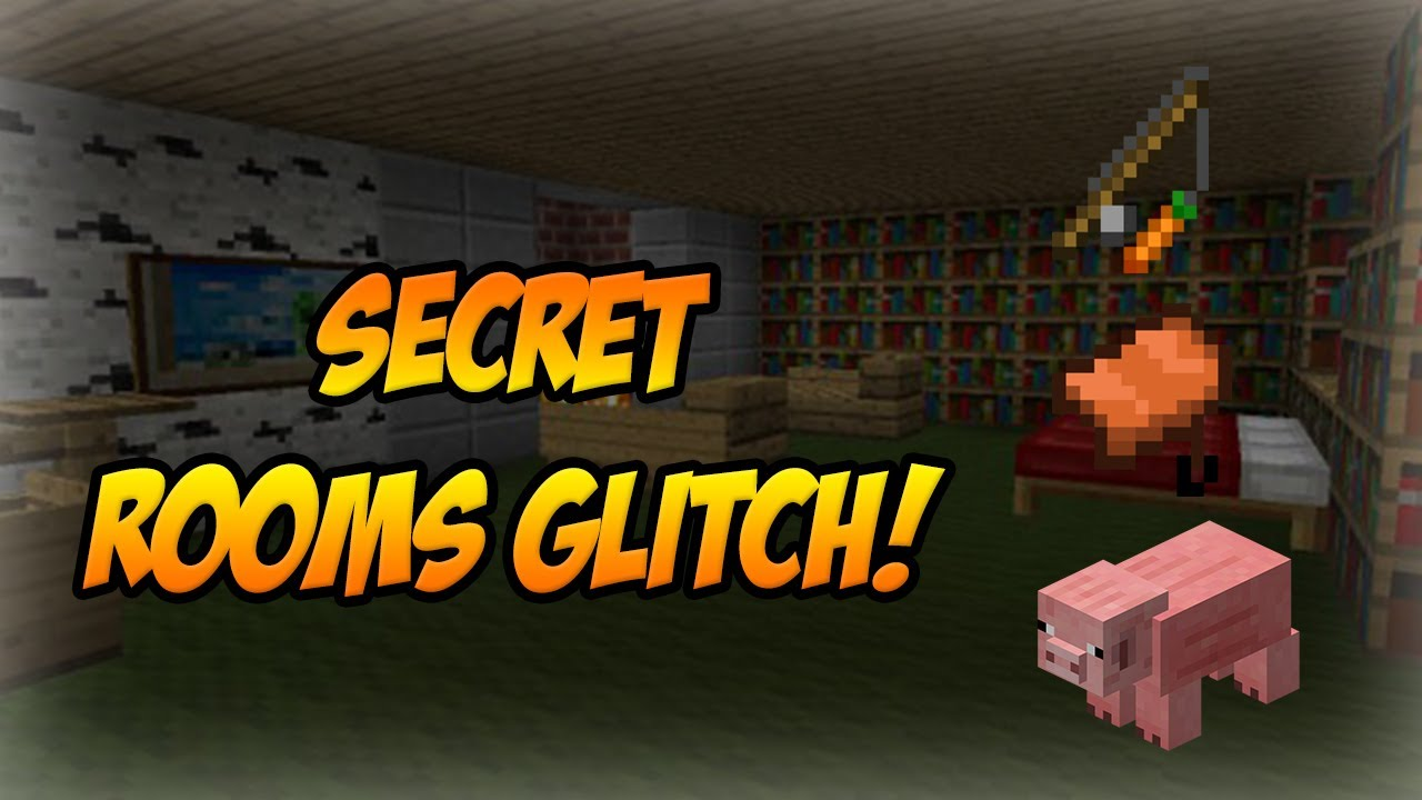 Minecraft Xbox 360 Ps3 Quot Secret Rooms Glitch Quot Tutorial