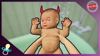 LOOKING AFTER A BABY IS EASY.... | MOTHER SIMULATOR [GAMEPLAY]