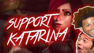 🔴 REWORKED KATARINA  SUPPORT IS SECRETLY BROKEN