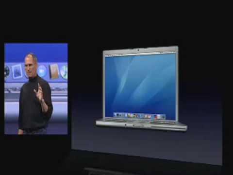 Macworld San Francisco 2006The MacBook Pro Introduction