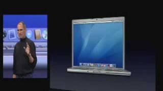 Macworld San Francisco 2006-The MacBook Pro Introduction