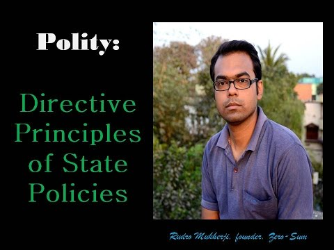 Polity: Directive Principles of State Policies