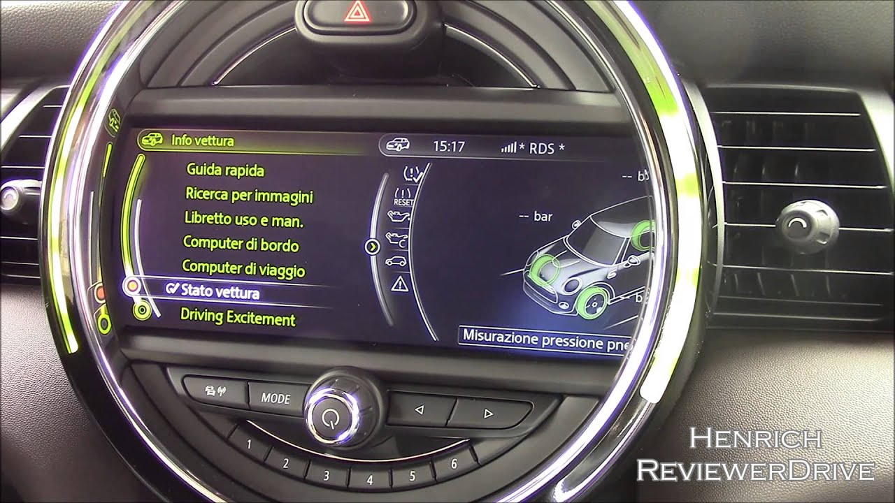 Mini Connected Infotainment Of 2014 Mini Cooper D Youtube