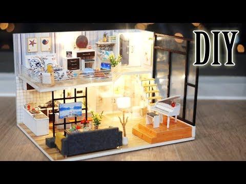 DIY Miniature Dollhouse Kit || Happy Days - Miniature Land
