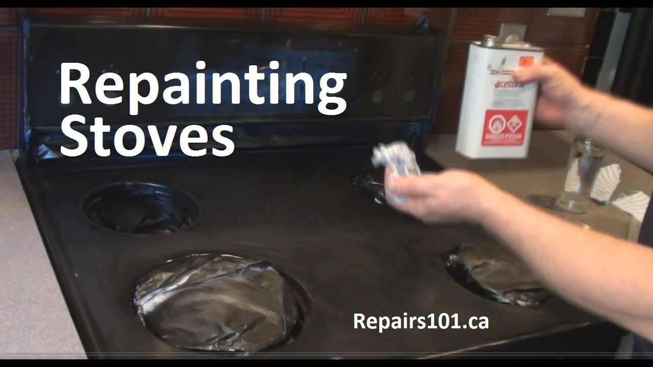 Beau Repainting Stoves   YouTube
