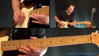 How to play Californication Guitar Solo - Red Hot Chili Peppers