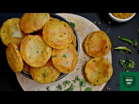 Aloo Puri Recipe | Potato Puri | Lunch, Dinner Recipes : Indian Chef