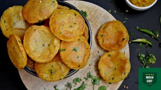 Aloo Poori Recipe | Potato Puri | Lunch, Dinner Recipes : Cooking Hacks