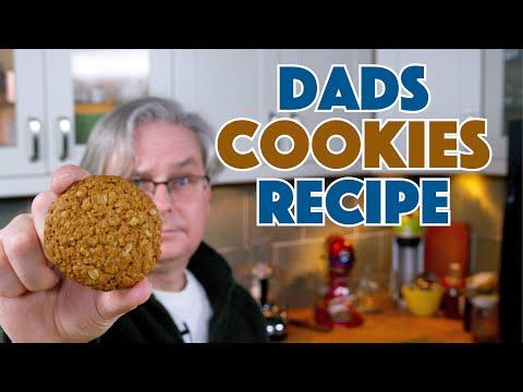 1938 Dad's Oatmeal Cookies Recipe