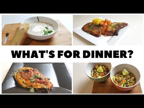WHAT'S FOR DINNER?   Vegetarian Dinner Recipes   Family Friendly Meals #4