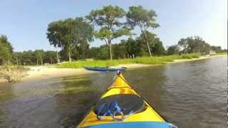 Kayaking Cape Fear River via Carolina Beach State Park