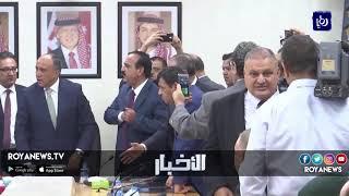 مشاجرة خلال انتخابات لجنة فلسطين النيابية - (24-10-2018)