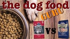 Nutri Source vs Blue Wilderness  dog food mashup