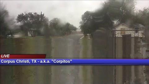 Hurricane Harvey Live from Corpus Christi, TX