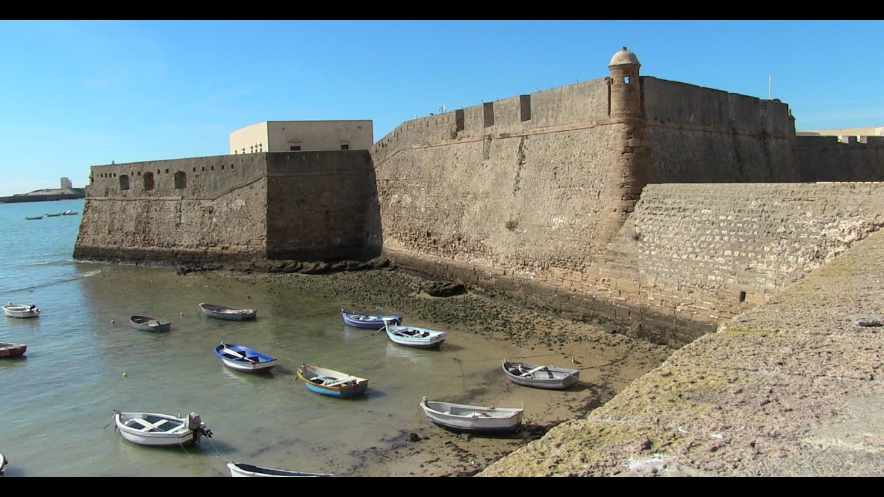 Cádiz Castillo de Santa Catalina y exposiciones - YouTube