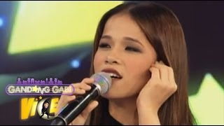 Klarisse can sing Janno, Ogie, Bamboo's voice