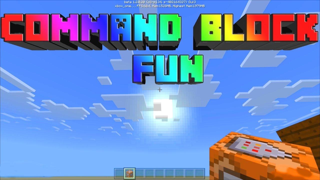 Minecraft Command Block Fun On Xbox One YouTube - Minecraft geheime hauser
