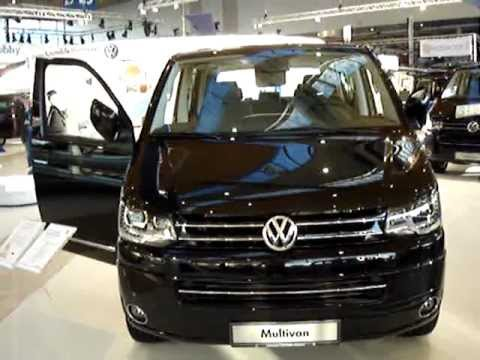vw multivan new volkswagen transporter caravelle t5 youtube. Black Bedroom Furniture Sets. Home Design Ideas