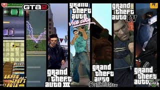 Evolution of Grand Theft Auto Games(1997-2017)|History of GTA Games|From GTA 1 to Gta 5