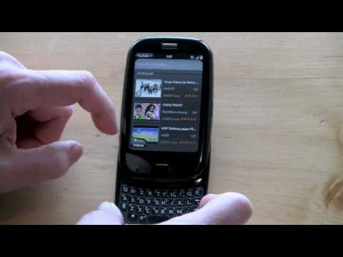 Palm Pre Plus and Palm Pixi Plus on Verizon Video Review