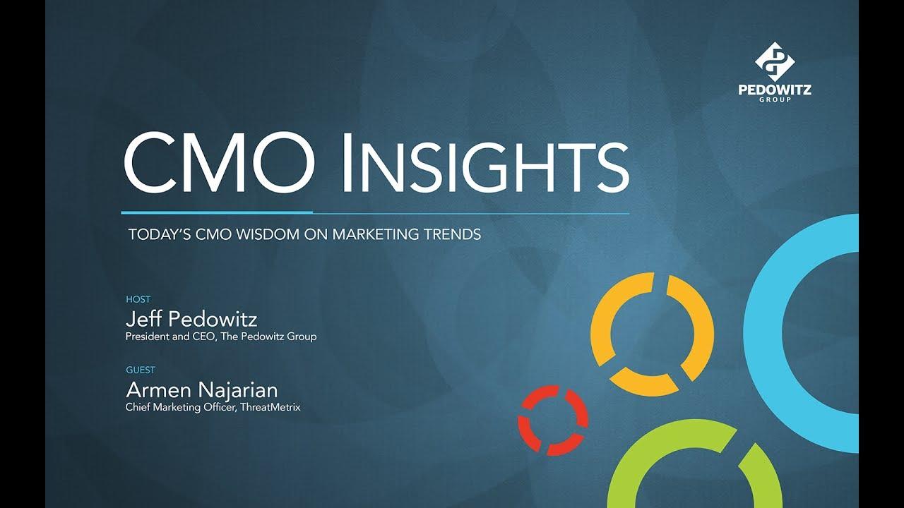 CMO Insights: Armen Najarian