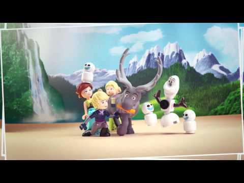 Мультфильм холодное сердце лего