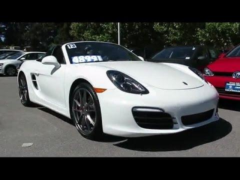 2013 Porsche Boxster S San Jose  Sunnyvale  Hayward  Redwood City  Cupertino