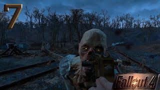 Fallout 4 прохождение на геймпаде часть 7 Гули и неравный бой с рейдерами