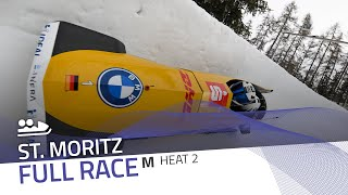 St. Moritz | BMW IBSF World Cup 2020/2021 - 2-Man Bobsleigh Heat 2 | IBSF Official