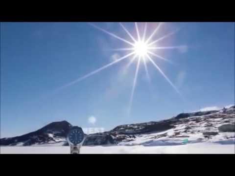 Движение солнца по небу, на северном и южном полюсах