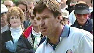 1995 Ryder Cup - Curtis Strange/Nick Faldo
