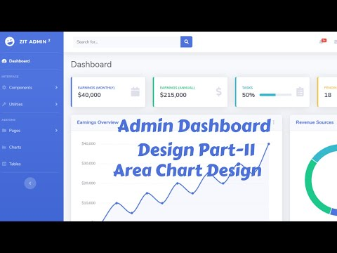 web-design-beginners-tutorial-2020-bangla-admin-dashboard-template-design-by-bootstrap-4-part-11