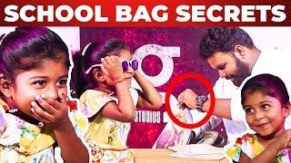 BEST EPISODE EVER: Super Mom Shreya Kutty School Bag Secrets I Full Fun Guaranteed