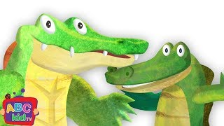 Crocodile Alligator Song | Nursery Rhymes & Kids Songs - ABCkidTV