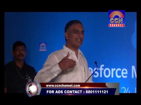 CCN NEWS SALESFORCE INAUGURATION OF ITS NEW CENTRE OF EXCELLENCE T. HARISH RAO
