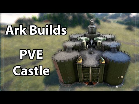 Ark PVE Builds - Massive Homestead/S+ Castle