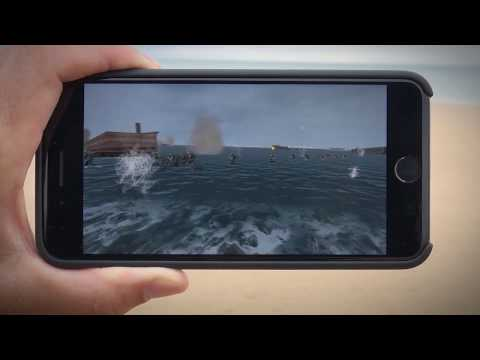 Omaha Beach — Sitsim DEMO V (FREE download from App Store)