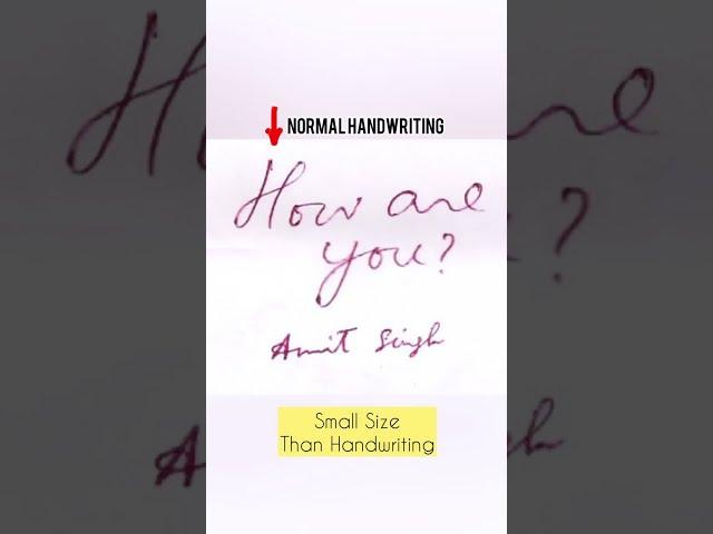 Avoid These 3 Styles in Your Signature | Tarun Malik #shorts #handwriting #signature