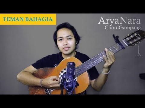Chord Gampang (Teman Bahagia - Jaz) By Arya Nara (Tutorial)