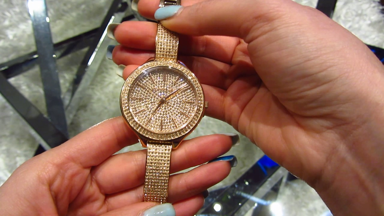 Michael Kors Mk3251 Women Watch Rose Gold Youtube