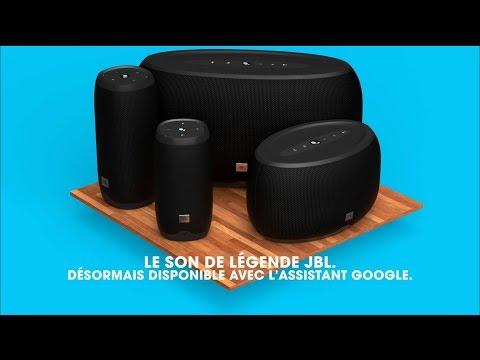 enceinte connect e jbl link 20 avec assistant vocal google chromecast noir vendeur tiers. Black Bedroom Furniture Sets. Home Design Ideas