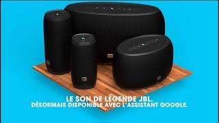 Gamme JBL LINK | Enceintes à commande vocale avec Assistant Google.